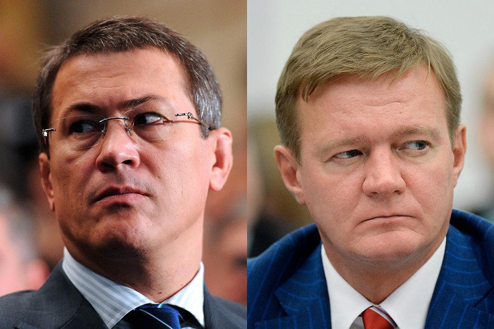 Президент назначил врио глав Курской области и Башкирии