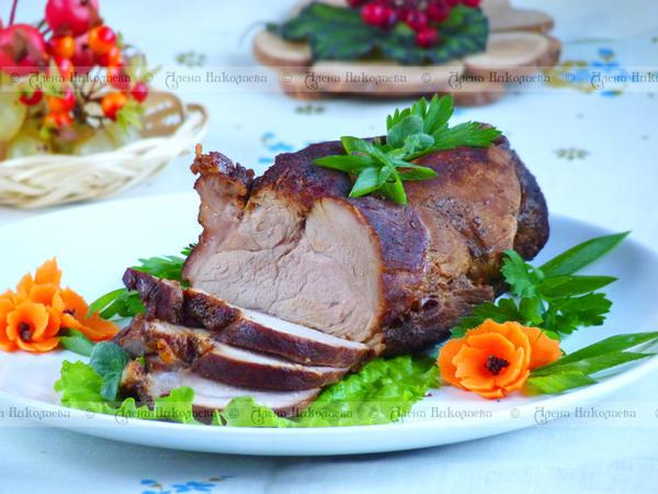 Мясо, приготовленное в мультиварке