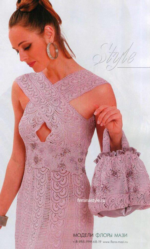 Платье и сумочка от Флоры Мази