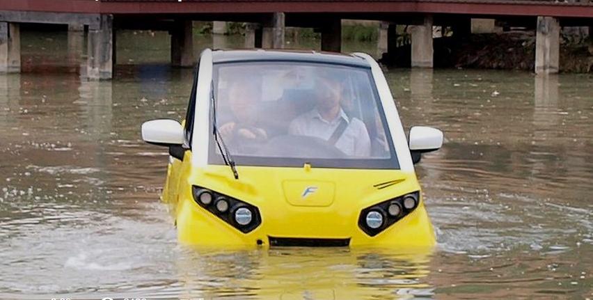 Цунами сподвигло японца придумать новый автомобиль