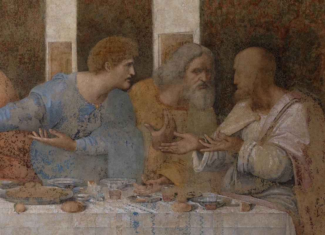 Что изображено на «Тайной вечере» Леонардо да Винчи на самом деле?
