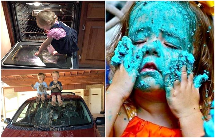 Осторожно, карапузы - 18 жизненных фотографий о том, что происходит, когда в доме появляются дети