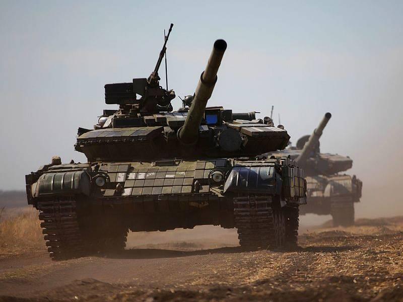 Боевое применение танков серии Т-64 украинской армией