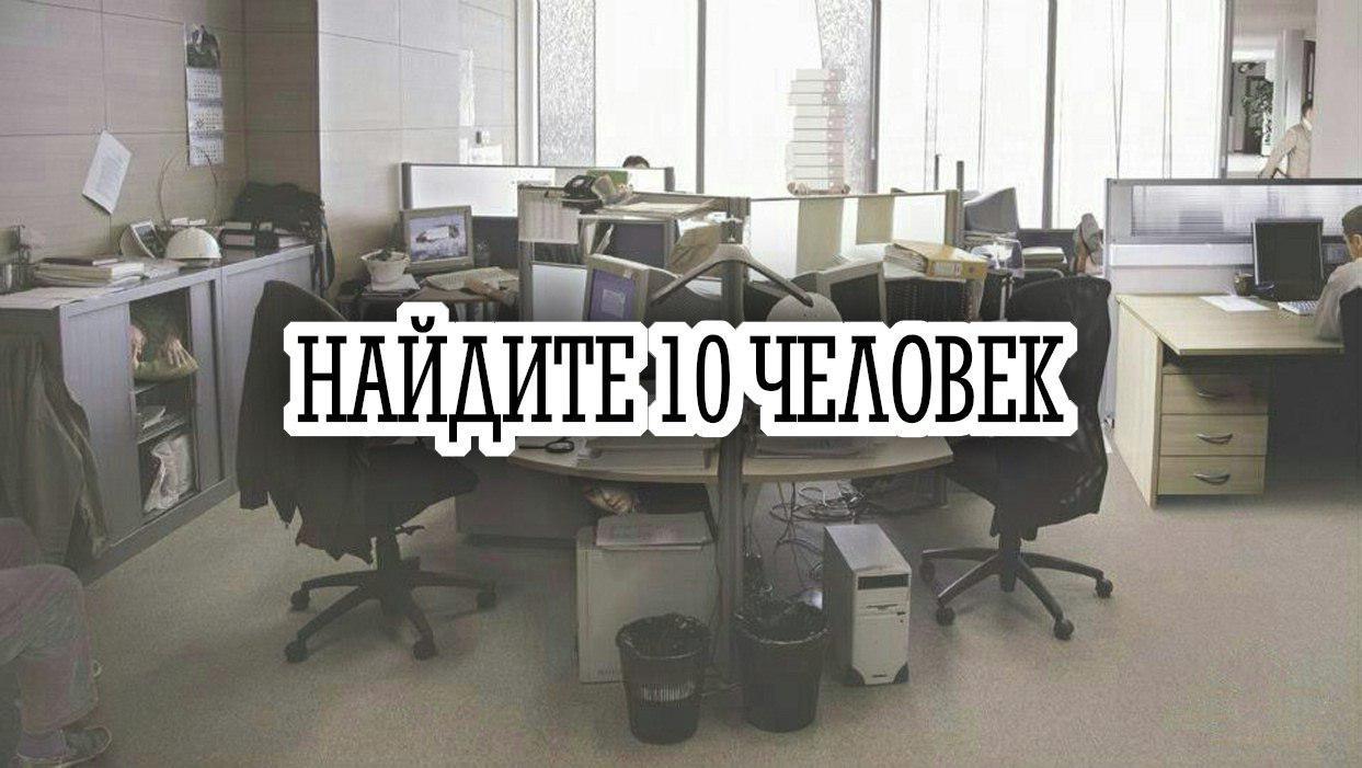 Сможете найти всех обитателей офиса?