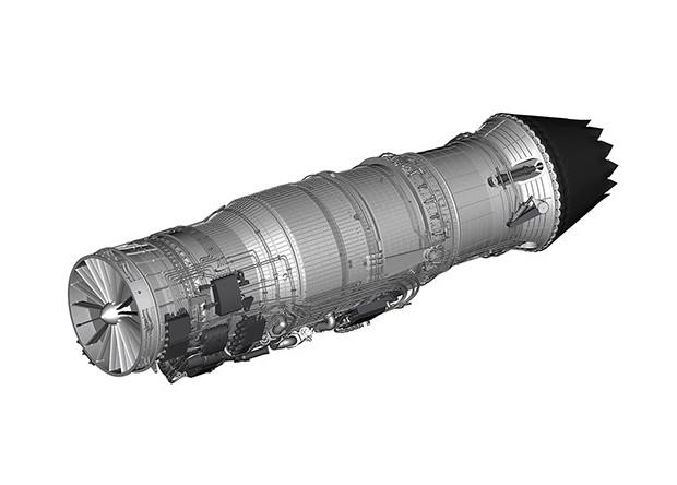 Началась сборка первых адаптивных реактивных двигателей