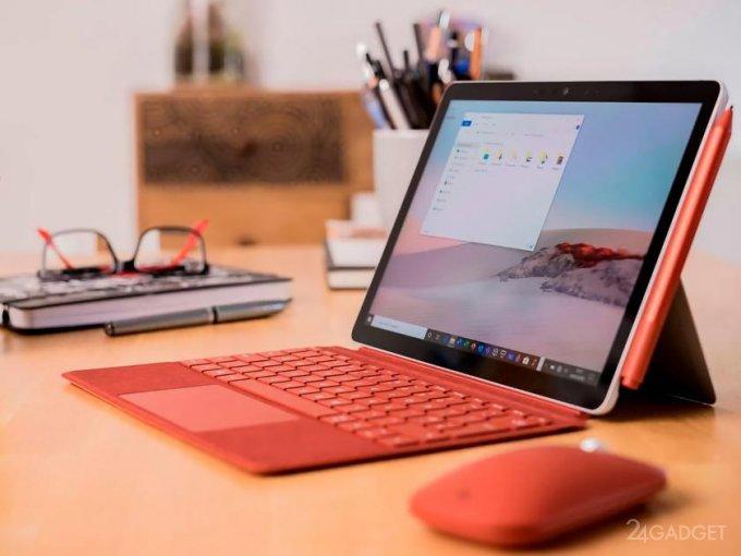 Microsoft готовит новый планшет линейки Surface Go 3 будущее,бытовая техника,гаджеты,Интернет,наука,планшеты,техника,технологии,электроника