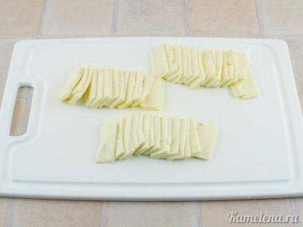 Запеканка из кабачков и плавленого сыра — 3 шаг