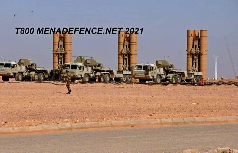 Опубликовано первое фото алжирских С-400