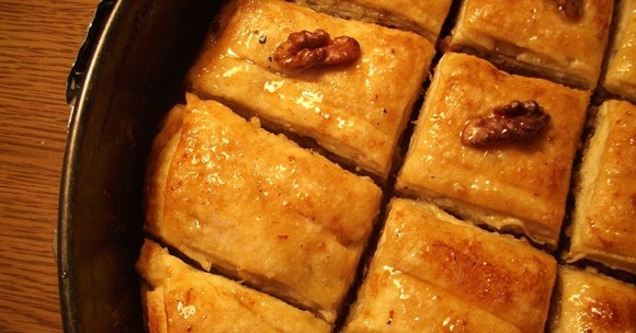 Пахлава алжирская — обожаю эту восточную сладость!