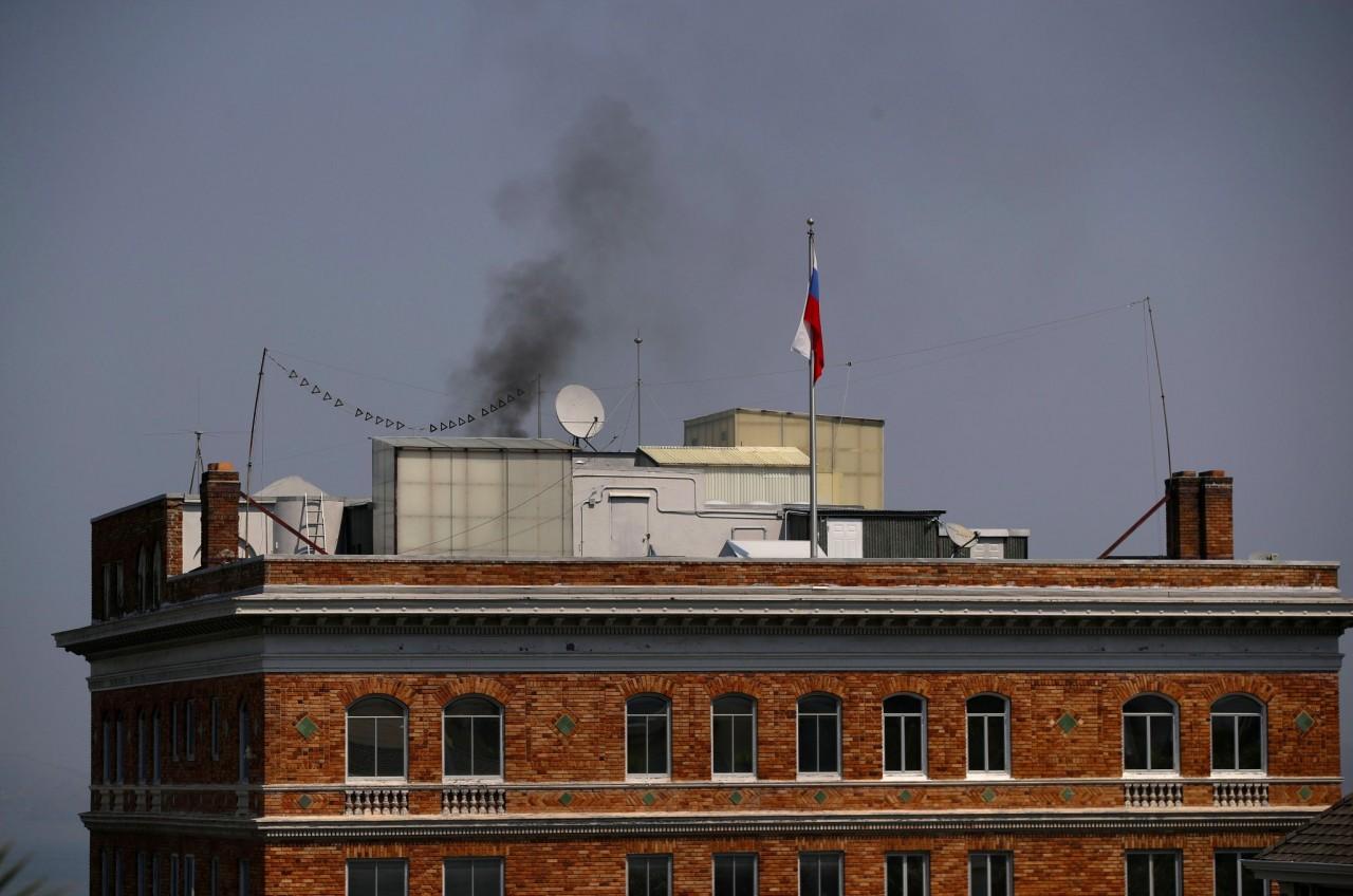 Российские дипломаты устроили крематорий
