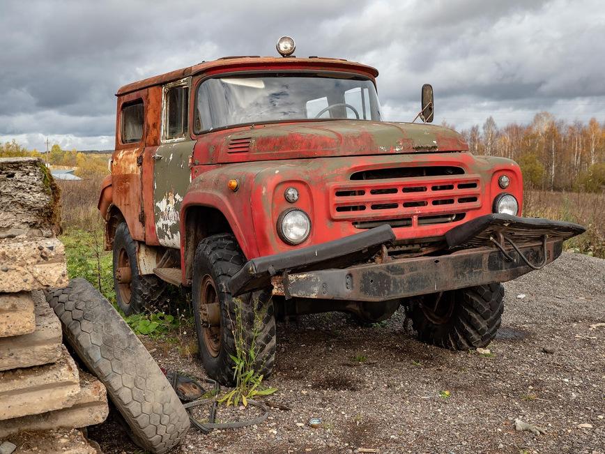 Найден очень необычный ГАЗ-66