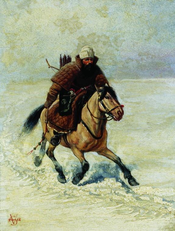 Россия в XV-XVII вв. - наилучший тип государства в условиях того времени и места