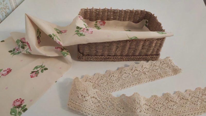 Красивое и недорогое преображение простой картонной коробки интерьер,переделки,рукоделие,своими руками,сделай сам