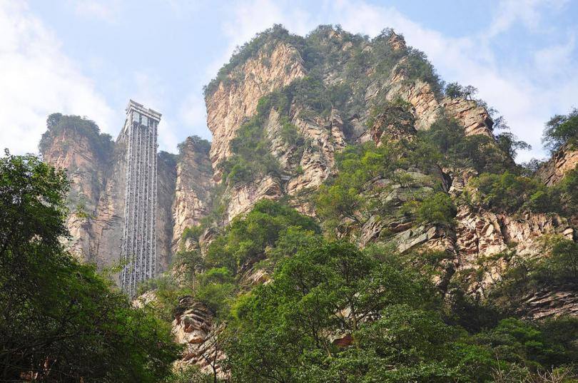 Экстремальный туризм в Китае интересное