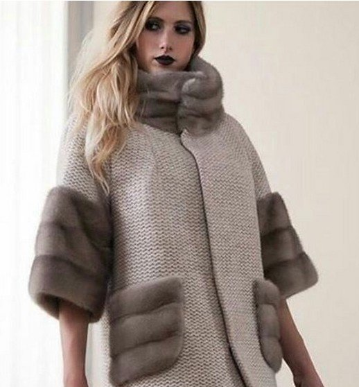 Дело идет к зиме - пальто с мехом вновь на пике популярности