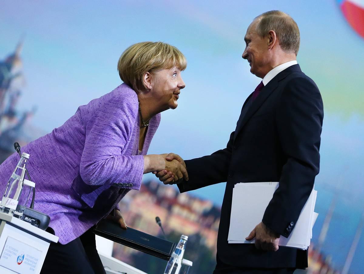 Встреча с Меркель: Путин будет говорить с позиции силы