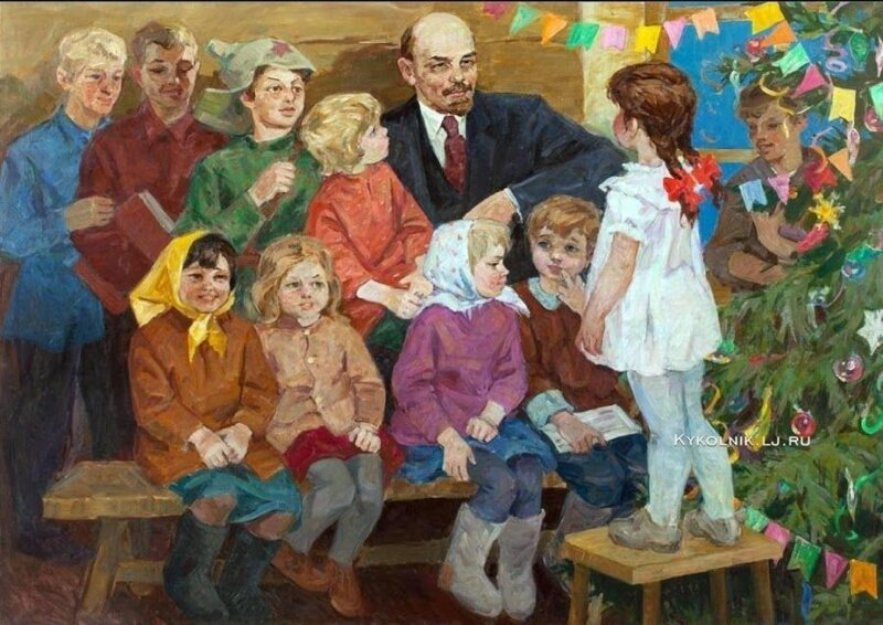 Владимир Ленин СССР, вожди, история, новый год, праздник, традиции
