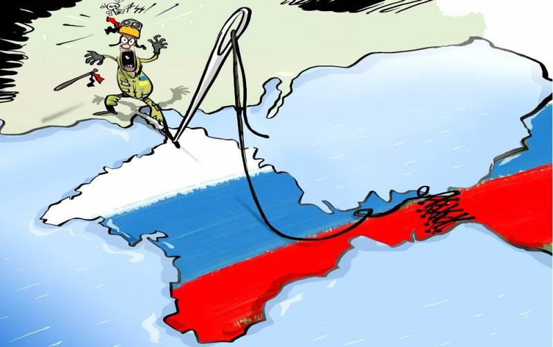 Украине придется ответить за Крым