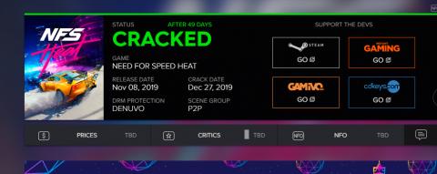 Хакерам удалось взломать Need for Speed HEAT. Защита продержалась 49 дней Denuvo, группа, неприступной, Speed, SpeedHEAT, CodexГонка, успешная, именитая, хакеров, более, известная, самая, преуспела, Примечательно, сдалась, всётаки, вышла, Защита, ноября, упорная