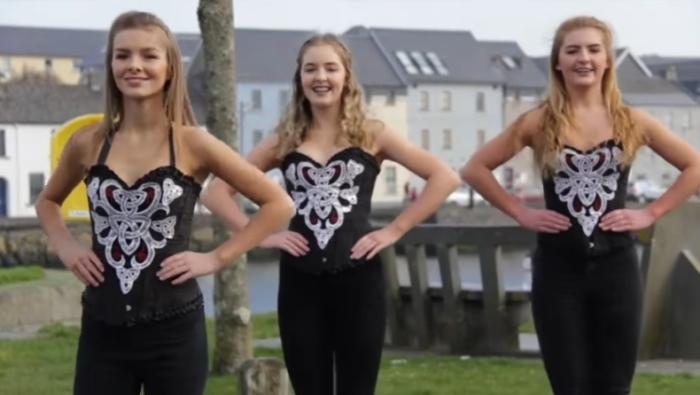 """""""Великолепное безумие"""" — танец ирландских девушек, собравший более миллиона просмотров в сети"""
