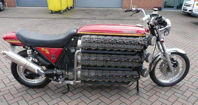48-цилиндровый мотоциклетный мотор