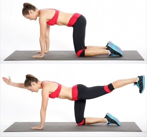 7 упражнений для идеальной фигуры. упражнение для бедер и ягодиц