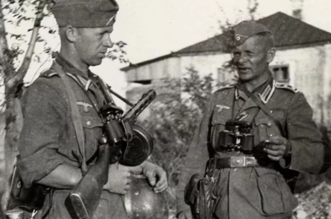 Каким трофейным советским оружием воевали немцы