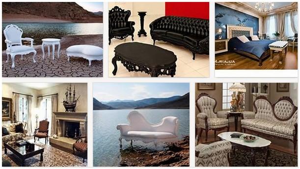 современная Викторианская Мебель
