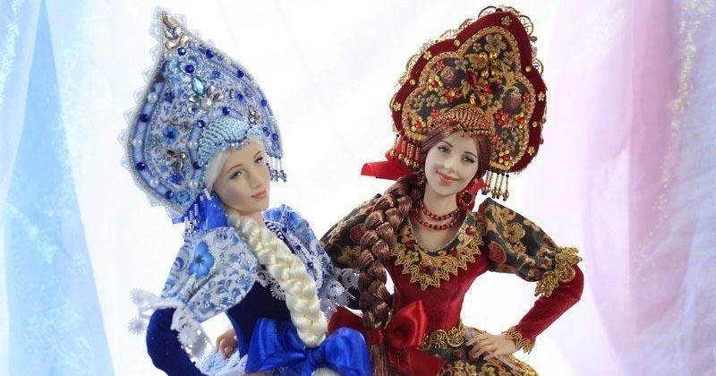В разы лучше куклы Барби: русские красавицы талантливой мастерицы