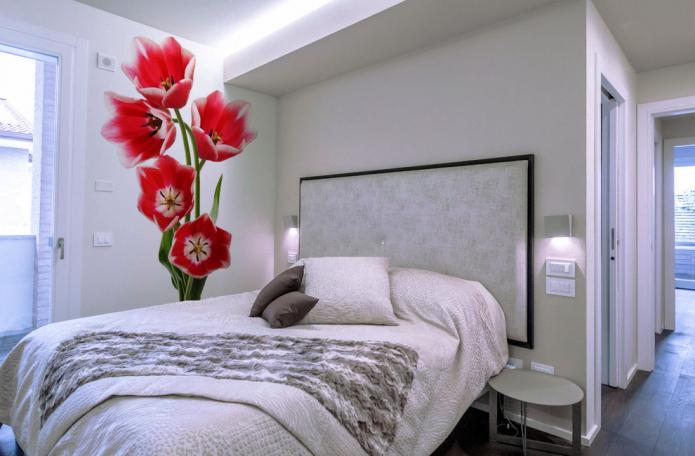 объемное изображение тюльпанов