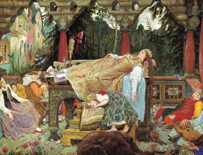 """""""Без мечты ничего нельзя сделать в жизни"""" — самый волшебный цикл картин Васнецова """"Поэма семи сказок"""""""