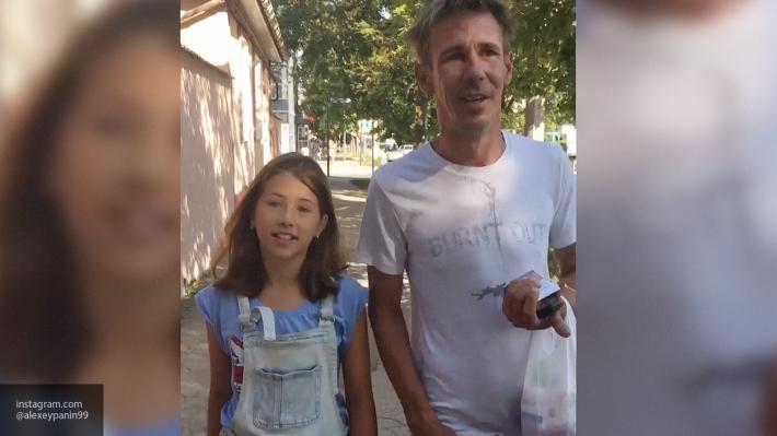 «Нас же посадят!» — Панин прокатился с дочкой на Gelandewagen по тротуару Саратова