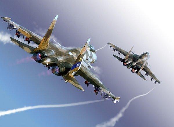 Русский «Терминатор» Су-37 –…