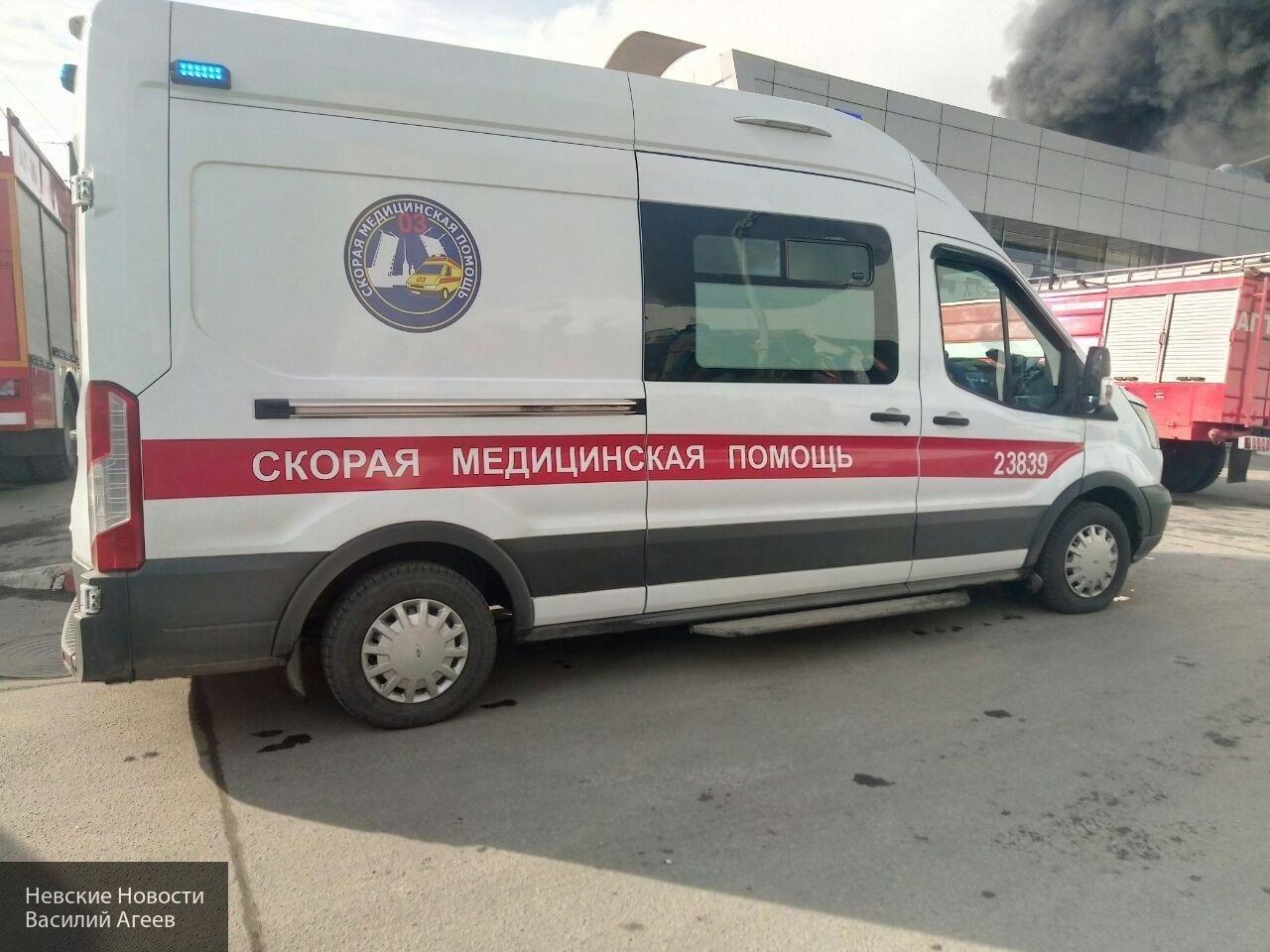 Под Омском автоледи спровоцировала лобовое ДТП с пятью пострадавшими