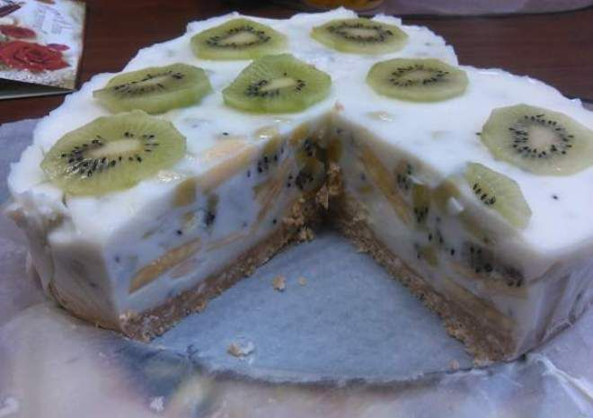 диетический торт с йогуртом