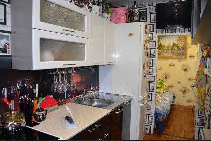 Моя красавица мини-кухня: уютный островок личного пространства в общежитии идеи для дома,интерьер и дизайн,кухня