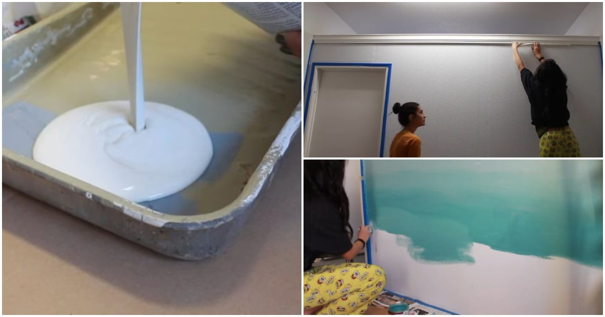 Ультрамодный ремонт с помощью 3-х банок краски