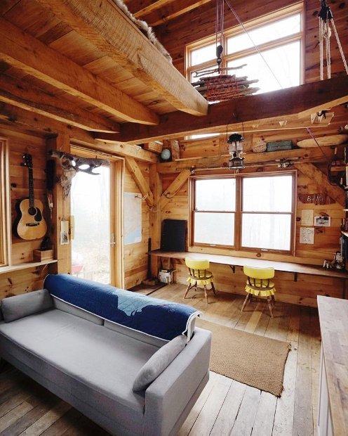Лучший отдых на свете — фото уютных деревянных интерьеров, где хочется оказаться прямо сейчас!