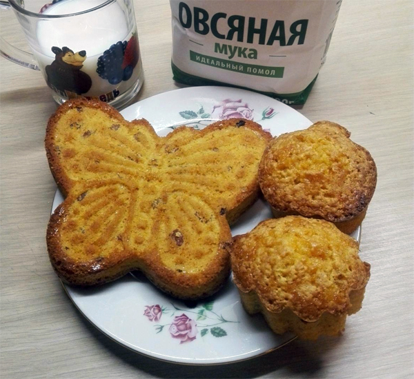 Морковно-овсяные кексы: просто, вкусно и полезно!