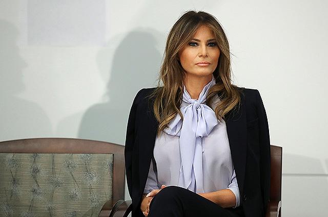 Мелания Трамп в редком интервью высказалась о скандалах с домогательствами и трудностях первой леди