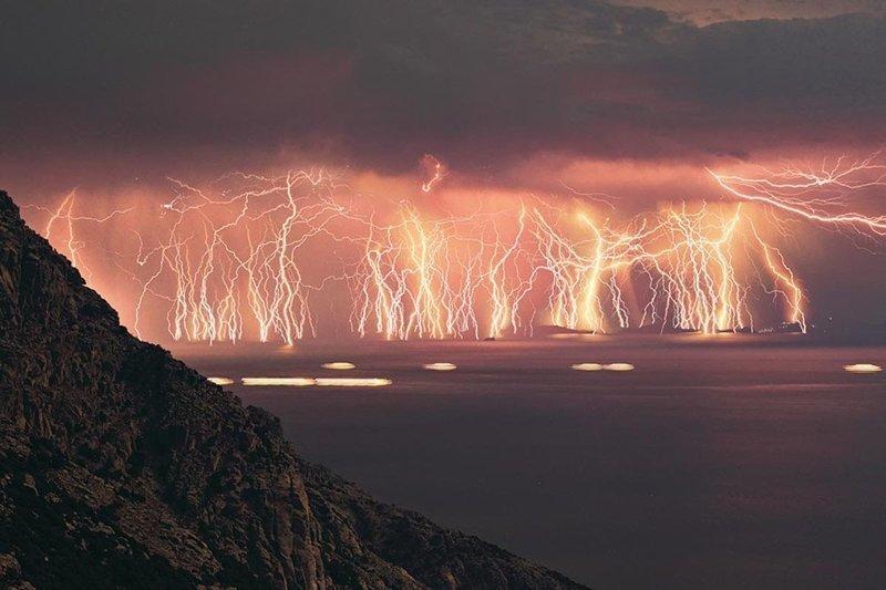 Молнии природа, природные явления, удивительная природа