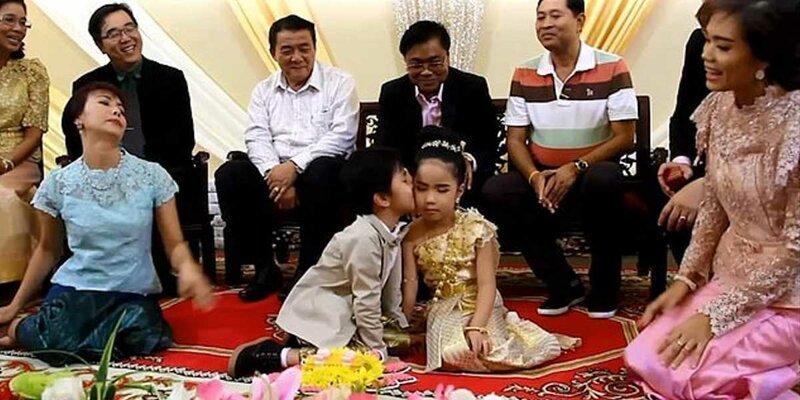 В Таиланде родители поженили близнецов, так как брат и сестра были возлюбленными в прошлой жизни