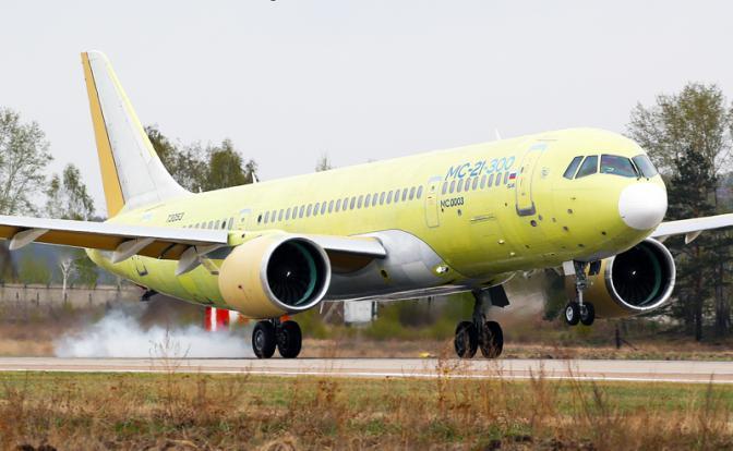 Американцы не верят в успех российской самолетостроительной программы