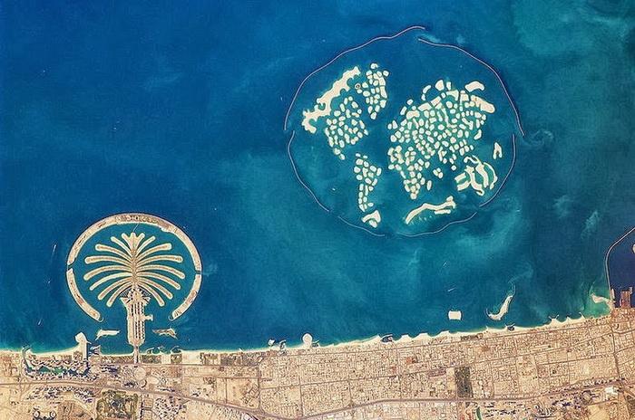 """Рукотворный """"Мир"""" - крупнейший на планете искусственный архипелаг (Дубай)"""