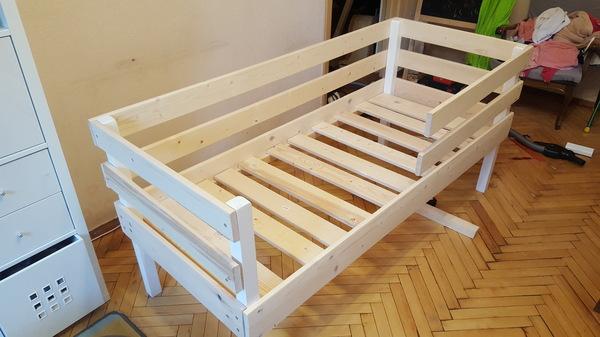 Кроватку своими руками за 1600р Кровать, своими руками, длиннопост