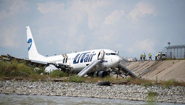 Авария Boeing 737 в Сочи