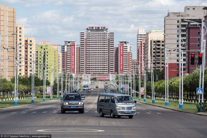 10. В Северной Корее одни из самых чистых городов в мире. правда, путешествия, северная корея, факты