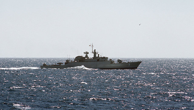 Военные корабли Ирана с друж…