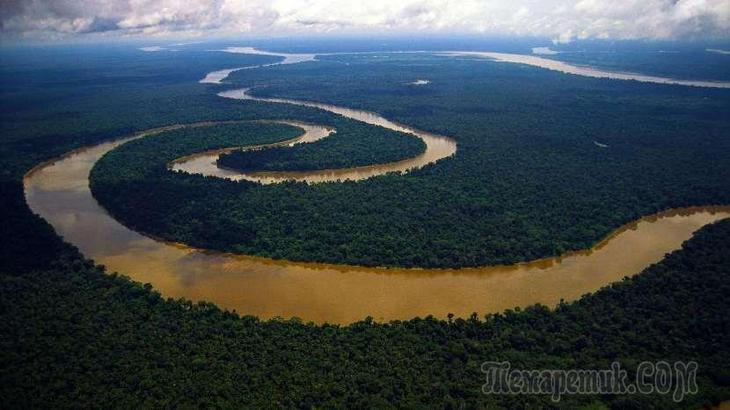 Самые опасные реки планеты Земля интересное,природа,реки