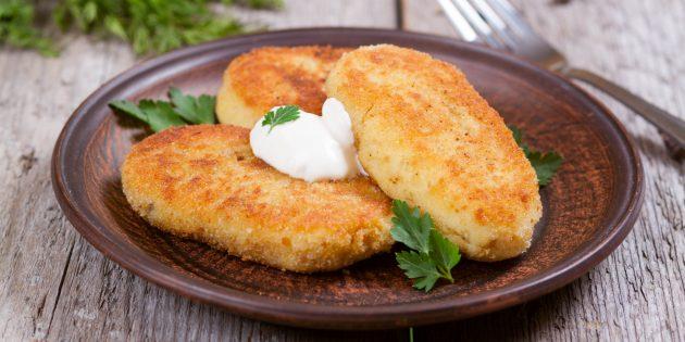 8 рецептов картофельных котлет вместо надоевшего пюре
